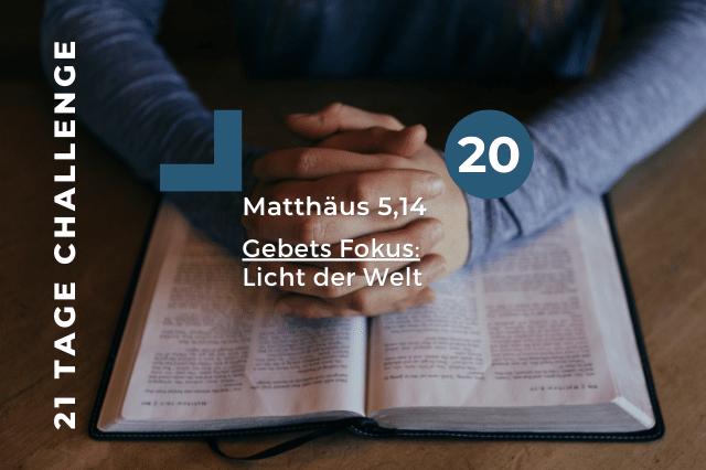 Tag 20 | 23.10.2020 – Licht der Welt